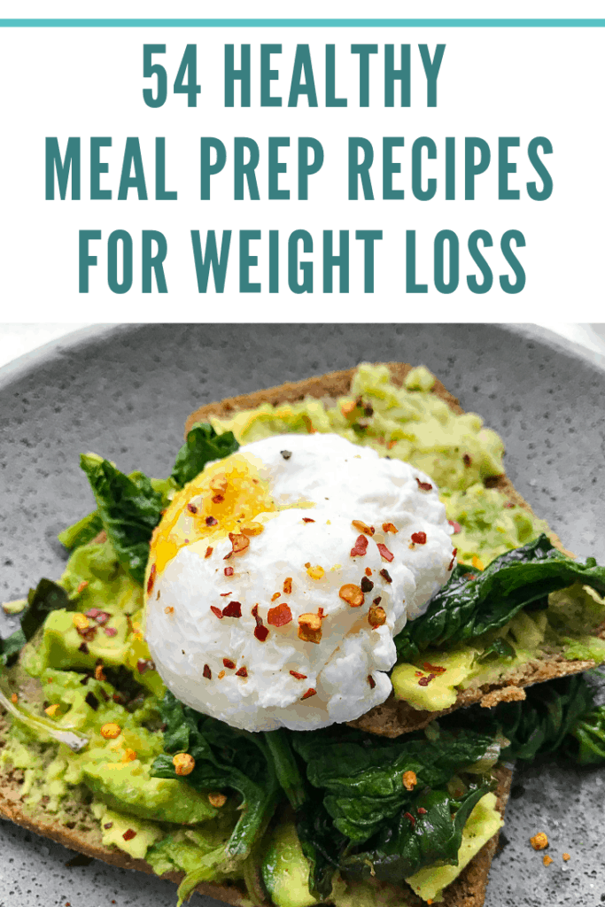 healthy meal prep recipes for weight loss