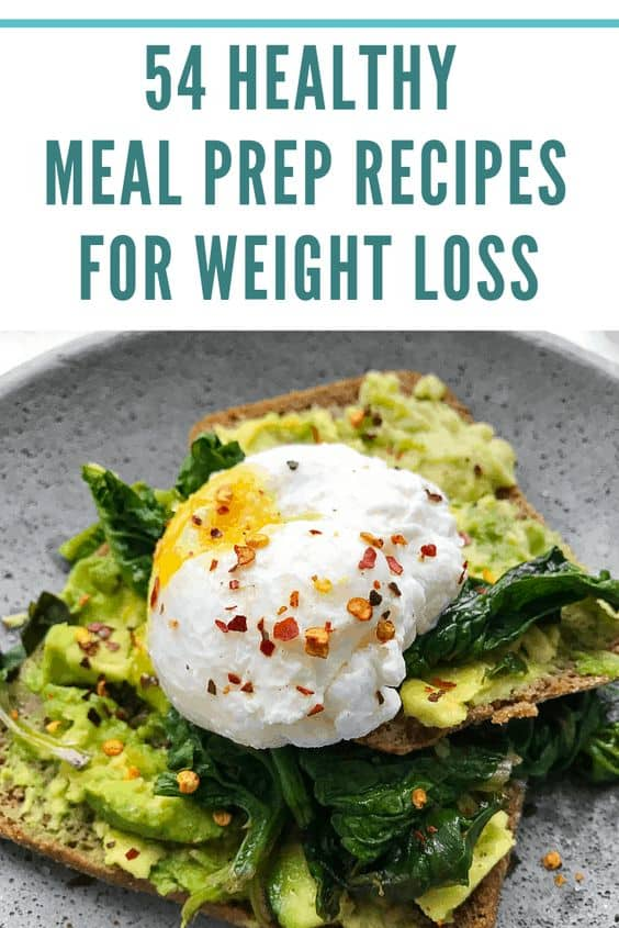 54 healthy meal prep recipes for weight loss