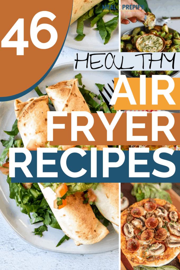 Air fryer meal prep