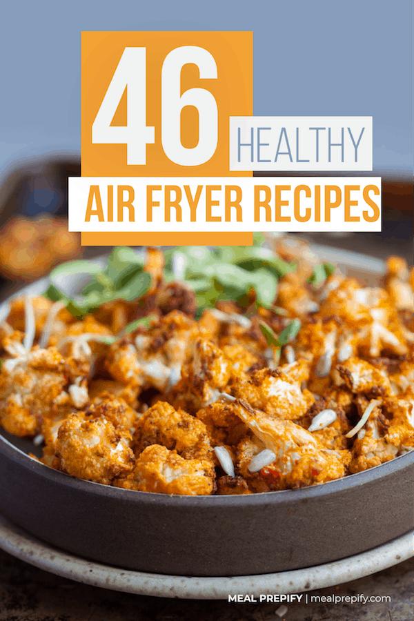 healthy air fryer recipes