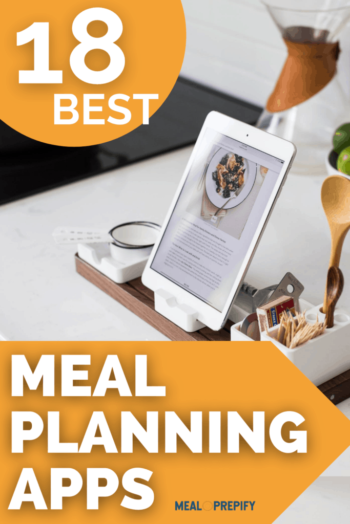 18 best meal planning apps
