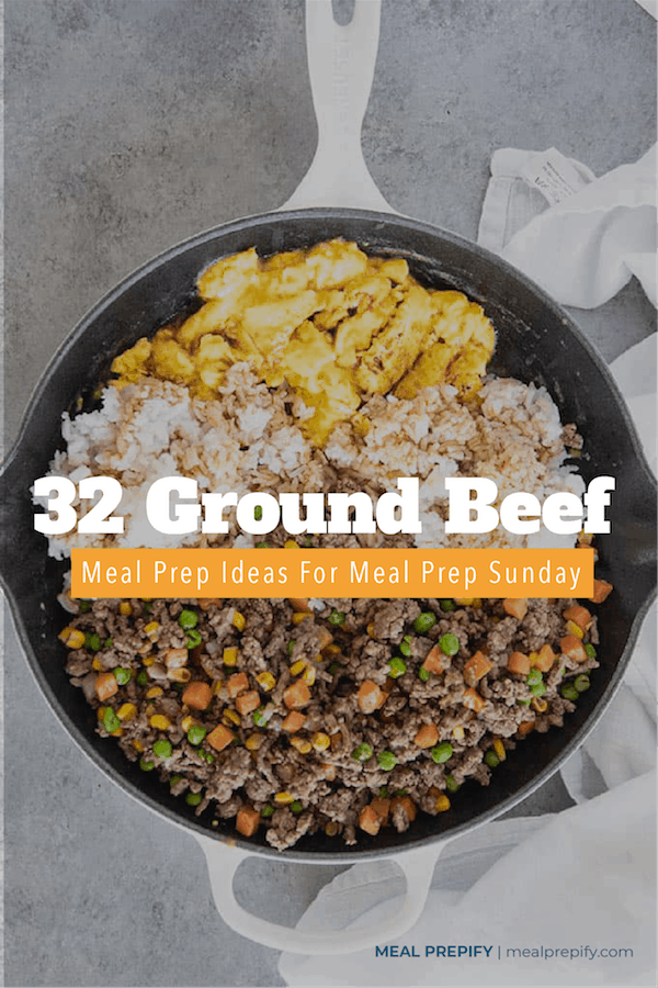 ground beef meal prep ideas
