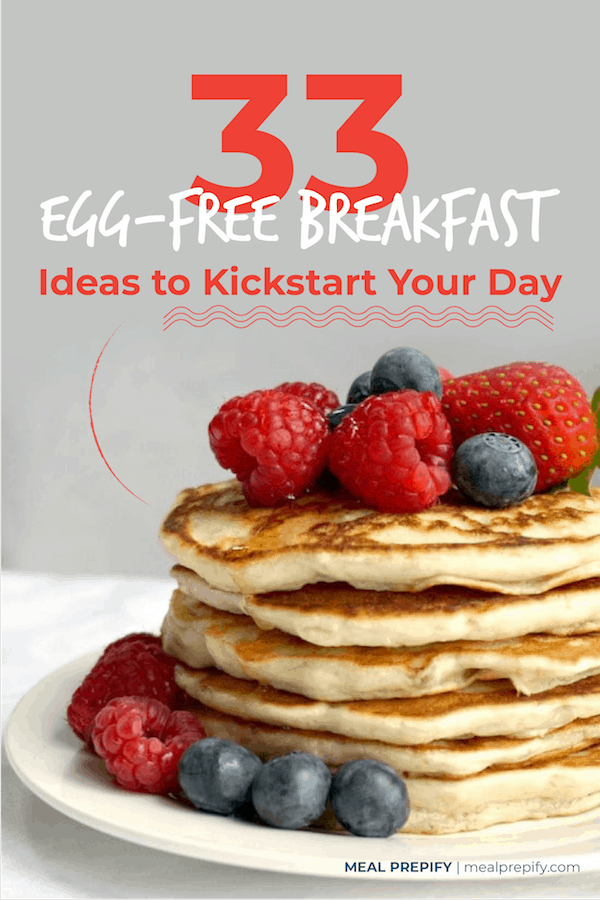 egg free breakfast ideas