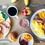 Electric skillet breakfast