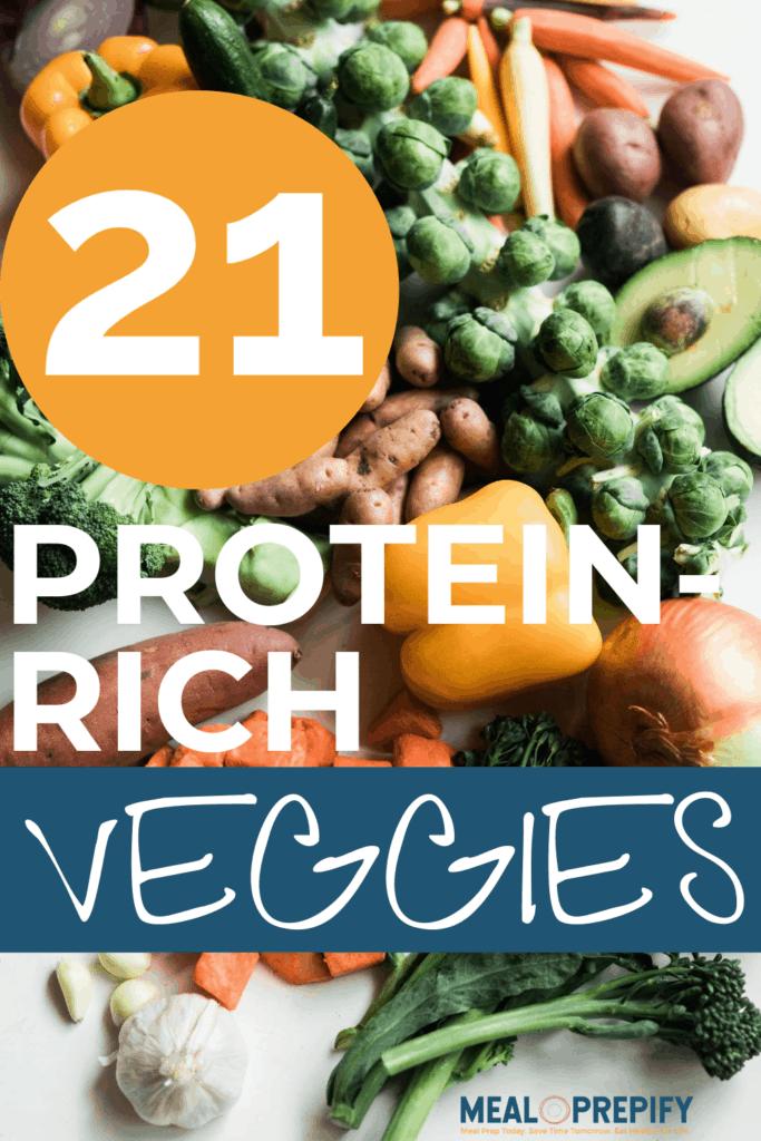21 high protein veggies
