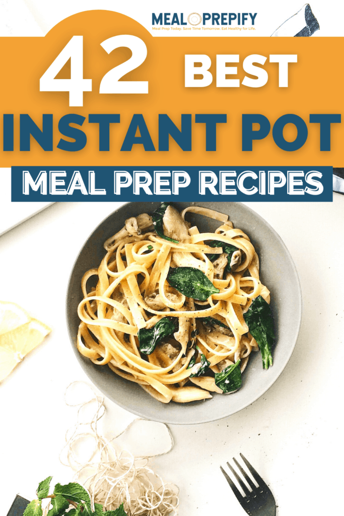 Instant pot meal prep picture