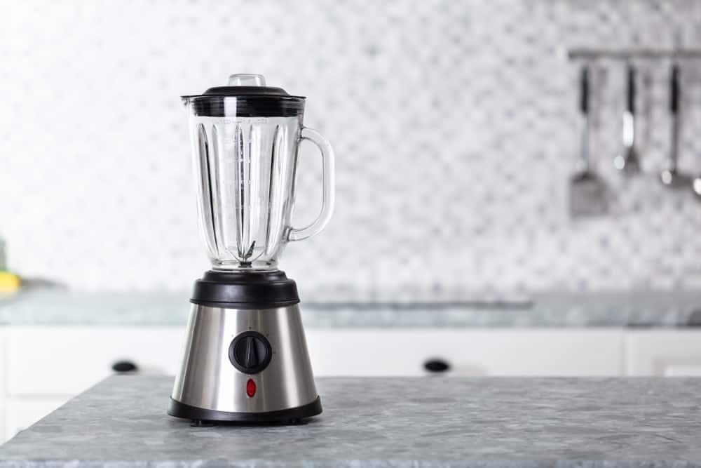 Large blender in a kitchen