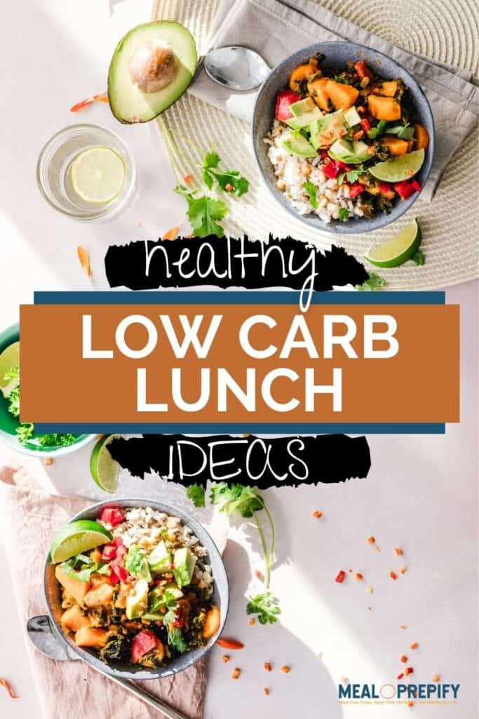 Healthy Low Carb Lunch Ideas
